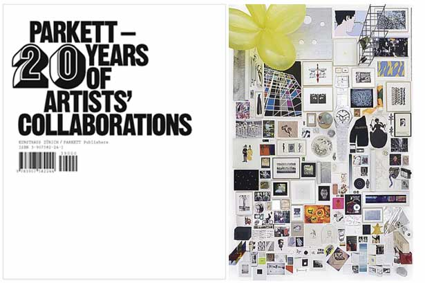 New Book: PARKETT - 20 Years of Artists' Collaborations