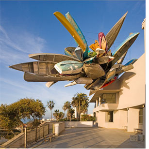 Acquires monumental Nancy Rubins Sculpture