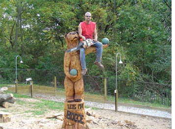 CHAINSAW SCULPTURE COMPETITION AND PALAIS DE TOKYO GRAND OPENING