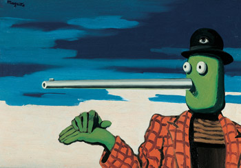 Rene Magritte. La Periode vache