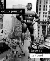 e-flux journal -- issue #1, December 2008