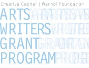 GRANTS FOR ARTS WRITERS