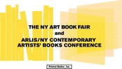 CONTEMPORARY ARTISTS BOOKS CONFERENCE