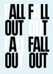 FALL OUT - art, desire and disengagement