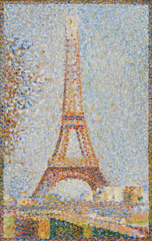 Georges Seurat. Figure in Space