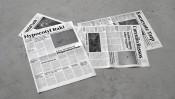 Mark Manders: Window with Fake Newspapers