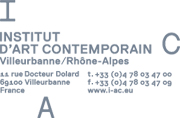 Institut d'art contemporain Villeurbanne/Rhône-Alpes