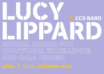 Lucy Lippard receives CCS Bard Award for Curatorial Excellence