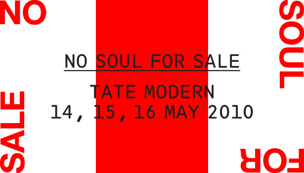 No Soul For Sale – A Festival of Independents