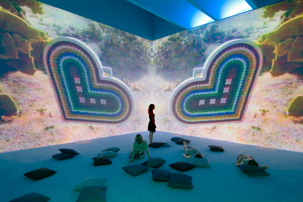 Pipilotti Rist: Friendly Game - Electronic Feelings