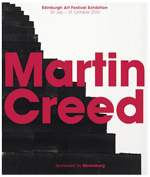 Martin Creed: Down Over Up