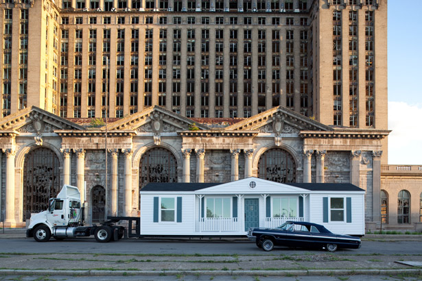Mobile Homestead by Mike Kelley launches in Detroit