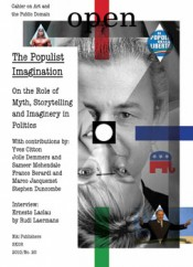 Open 20: The Populist Imagination - The Role of Myth, Narratives and Identity in Politics