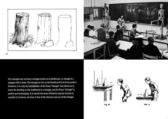 'seeing studies': spatial, printed and spoken
