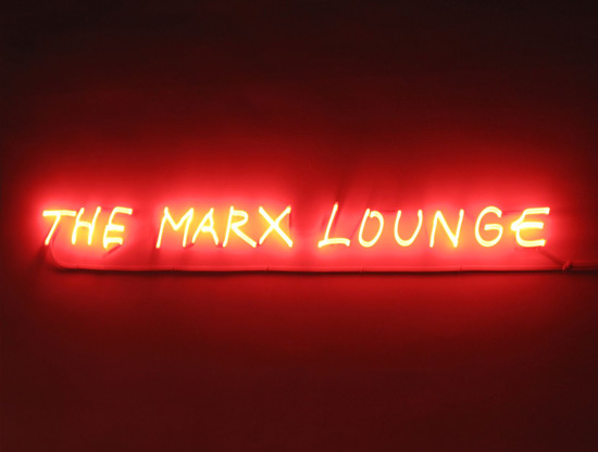 Alfredo Jaar's The Marx Lounge