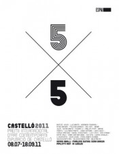 5x5Castello2011. Premi Internacional d&#039;Art Contemporani Diputacio de Castello