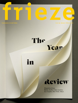 frieze issue 144 out now