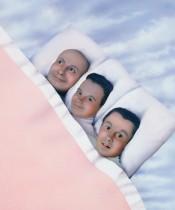 """General Idea, """"Baby Makes 3,"""" 1984–1989."""