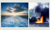 Oceans and Campfires: Allan Sekula and Bruno Serralongue