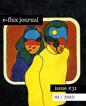 e-flux journal issue no. 31 out now
