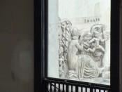 Allégorie à la gloire des Arts (1937), Légende de la Terre, sculpture (bas-relief) by Alfred Auguste Janniot, models: Thalie, Melpomène, Eros, Uranus, Clio, Calliope. © ADAGP.