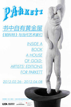 UCCA Beijing presents Inside a Book a House of Gold: Artists' Editions for PARKETT