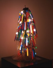"Atsuko Tanaka, ""Electric Dress (Reconstructed in 1986),"" 1956. Courtesy and the Collection of Takamatsu City Museum of Art. © Ryoji Ito."