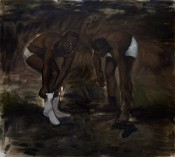 "Lynette Yiadom-Boakye, ""The Generosity,"" 2010."