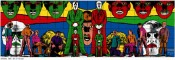 "Gilbert & George, ""Waking,"" 1984.Photo-piece, 363 x 1,111 cm.Guggenheim Bilbao Museoa GBM1997.28. © Gilbert & George"