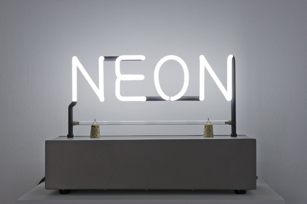 Néon, who's afraid of red, yellow and blue? at la maison rouge
