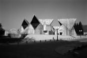 Cultural Centre Kolasin, Montenegro, 1976; architect Marko Music (© Wolfgang Thaler).