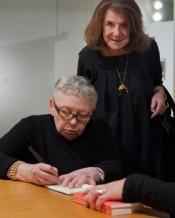 Jacqueline de Jong and Michèle Bernstein, Moderna Museet, February 25, 2012. Photo: Åsa Lundén/Moderna Museet.