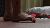 """Roee Rosen, """"Out (Tse),"""" film still, 2010. 34 minutes."""