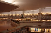 A view from the Rovaniemi City Library. Design by Alvar Aalto. Photo: Nina Maria Peltola.