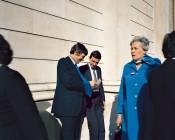 "Paul Graham, ""Executives,"" Bank of England, London, November 1981. © Paul Graham."