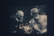 "Pierre Bismuth, ""Following the Right Hand of Sigmund Freud,"" 2009. 16mm film, 01:30 min, silent.*"