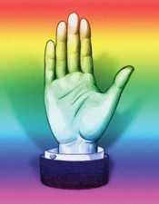 Carlos Motta, Our Hand, from &quot;We Who Feel Differently,&quot;2011. Project sketch. Courtesy the artist.