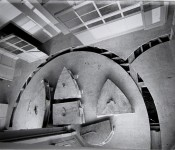 Gordon Matta-Clark, &quot;Office Baroque&quot; (documentation of the action &quot;Office Baroque,&quot; carried out in 1977 in Antwerp, Belgium), 1977.*