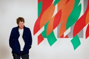 Bridget Riley, 2012. Photographer: Christian Wickler.