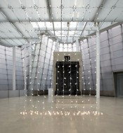 Felix Gonzalez-Torres, &quot;Untitled (North)&quot;, 1993. Light bulbs, porcelain sockets and extension cords.*