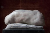 Berlinde De Bruyckere, We Are All Flesh, 20092010. Wax, epoxy, iron, pillow and wood. 122 x 65 x 65 cm. Photo: Nele De Roo.