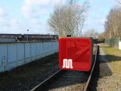 "HeHe's artists' impression of ""M:blem: the train project"" for Manchester created by HeHe, commissioned by The Arts Catalyst and AND Festival 2012."