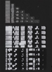 "Dóra Maurer, ""Timing analyses 4,"" 1980. B/W photographs. Courtesy: Kontakt. The Art Collection of Erste Group and ERSTE Foundation."