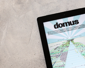 domus is now available on iPad