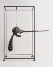 Alberto Giacometti, &quot;Le Nez,&quot; (The Nose), 1947 (1949 version). Bronze, 80.9 x 70.5 x 40.6 cm.*