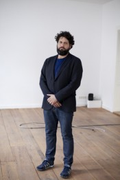 Juan A. Gaitn, Curator of the 8th Berlin Biennale for Contemporary Art. Photo  Anna Eckold.