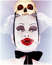 Nick Knight, &quot;Untitled (Leigh Bowery with Scull),&quot; 1992.  Nick Knight.
