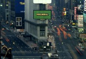 Muntadas, &quot;This Is Not an Advertisement,&quot; Times Square, New York, 1985. Photo: Pamela Duffy.  Muntadas / ADAGP, Paris, 2012.
