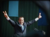 Still from &quot;The White House Home Movies: Richard Nixon on Super 8&quot;program. Courtesy of Brian Frye and Penny Lane. USA. Various years.