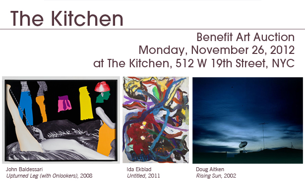 The Kitchen's Benefit Art Auction